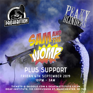 Prohibition Peaky Blinders with Sam & The Womp