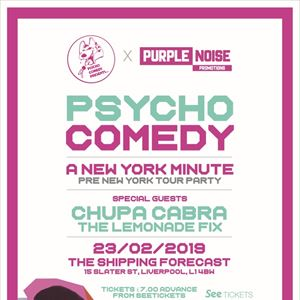 Psycho Comedy: A New York Minute