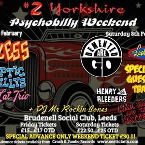 Psychobilly Weekender (Saturday Ticket)