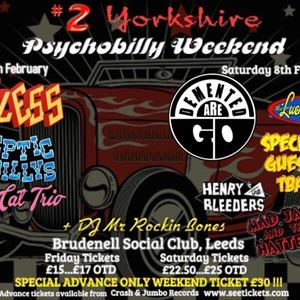 Psychobilly Weekender (Weekend Ticket)
