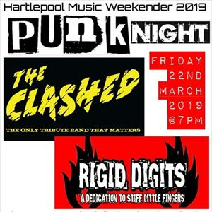 Punk Night feat THE CLASHED & RIGID DIGITS
