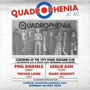 QUADROPHENIA - film + Q & A with cast members