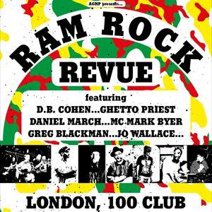 Ramrock Revue D.B. COHEN + GHETTO PRIEST