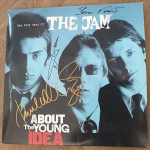 Rare autographed Jam album raffle