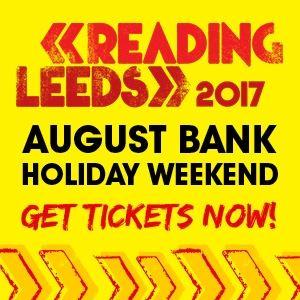 Reading Festival Friday Ticket 2017