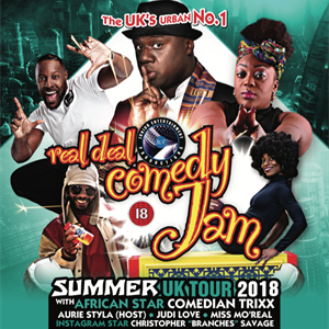 Real Deal Comedy Jam - Summer Special - Birmingham