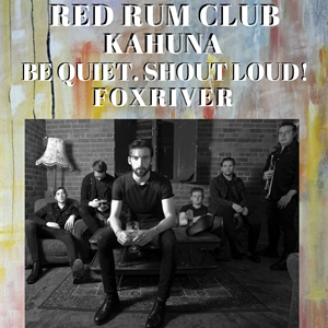 Red Rum Club / Kahuna & Special Guests