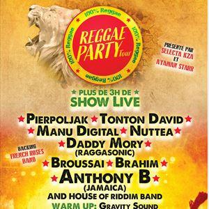REGGAE PARTY TOUR