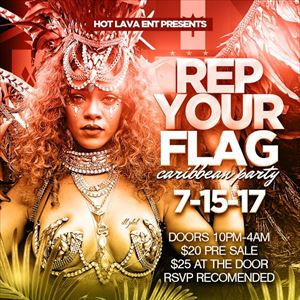 Rep Your Flag Caribbean Party