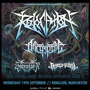 Revocation, Archspire, Soreption, Rivers Of Nihil