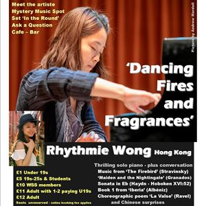 Rhythmie Wong's 'Dancing Fires and Fragrances'