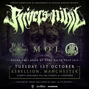 Rivers Of Nihil - Manchester.