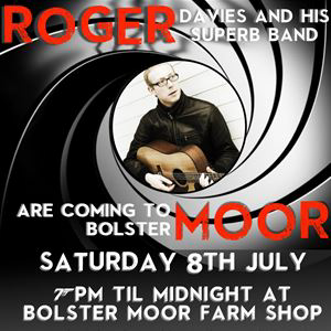 Roger Davies and His Band at Bolster Moor