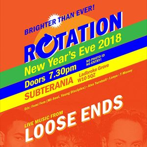 Rotation Presents Loose Ends - New Years Eve