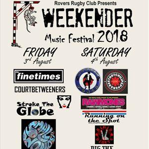 ROVERS WEEKENDER MUSIC FESTIVAL 2018