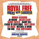 Royal Free Rocks With Laughter