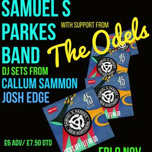 Samuel S Parkes Band feat DJ Sets