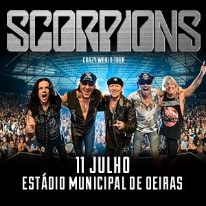 Scorpions - Crazy World Tour