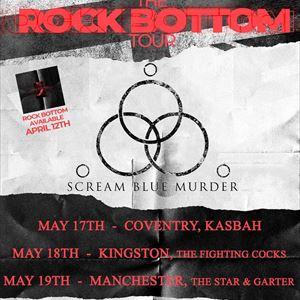 Scream Blue Murder - Manchester.