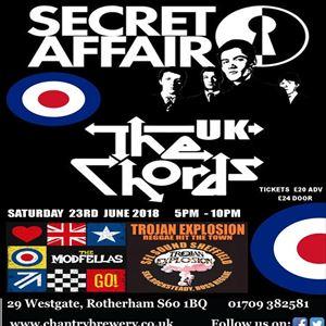 SECRET AFFAIR & THE CHORDS UK MODFELLAS