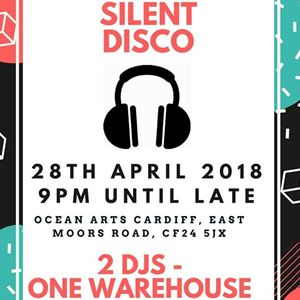 Silent Disco at Ocean Arts Cardiff Warehouse