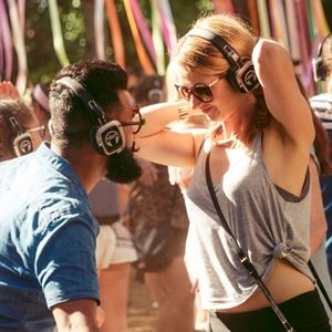Silent Disco In The Woods