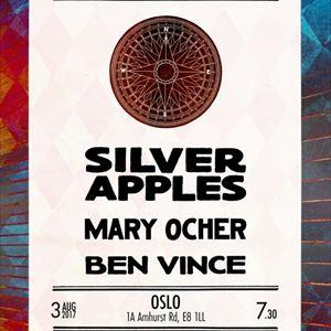 Silver Apples, Mary Ocher & Ben Vince