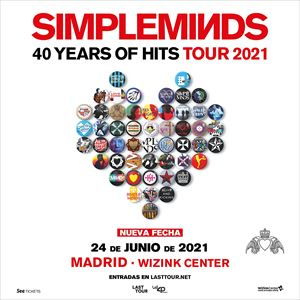 Simple Minds Madrid