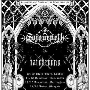 SOJOURNER + HAVUKRUUNU - GLASGOW