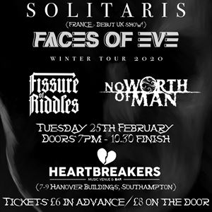 Solitaris (FRA) + Faces of Eve (UK)