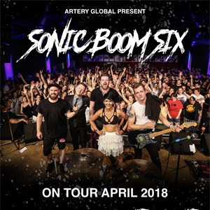 Sonic Boom Six plus Guests