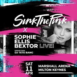 Sophie Ellis Bextor Ft Sink The Pink