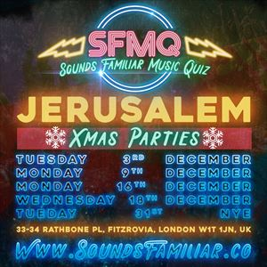 Sounds Familiar New Year's Eve Party at Jerusalem