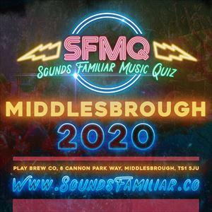 Sounds Familiar Music Quiz  - Middlesbrough
