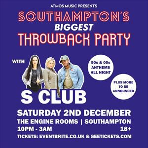 SOUTHAMPTON'S BIGGEST THROWBACK PARTY