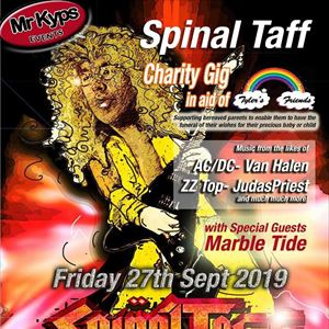 Spinal Taff Charity Gig