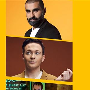 Stand up Comedy with Tez Ilyas & Stephen Bailey