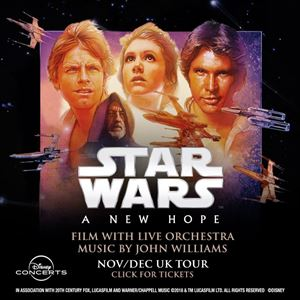 Star Wars A New Hope - Film With Live Orchestra