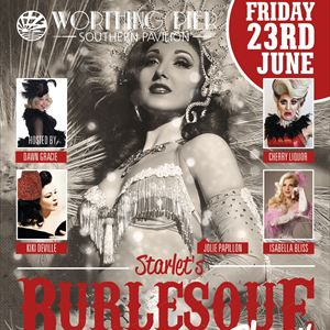 Starlets Burlesque Show Worthing