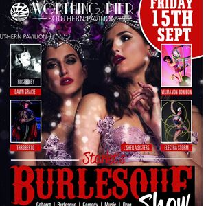 Starlets Burlesque Show Worthing Pier