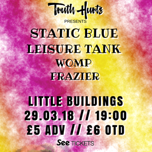 Static Blue / Leisure Tank / WOMP / Frazier