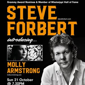STEVE Forbert & introducing Molly Armstrong