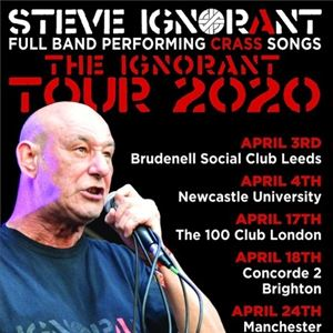 Steve Ignorant - The Ignorant Tour