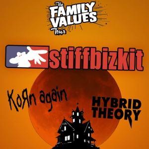 Stiff Bizkit, Korn Again + Hybrid Theory