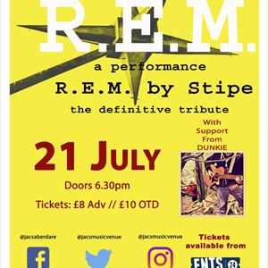Stipe - R.E.M Tribute LIVE @JACS