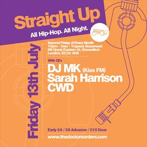 Straight Up - All Hip-Hop. All Night