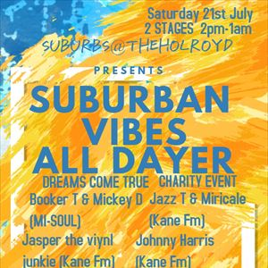 SUBURBAN VIBES ALL DAYER