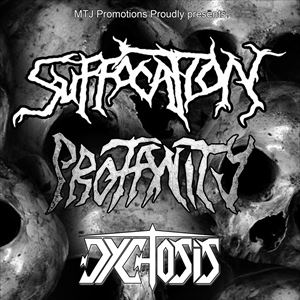 Suffocation + special guests