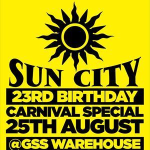 Sun City 23rd Birthday