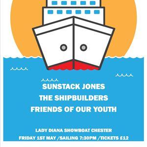Sunstack Jones -  Launch Cruise River Dee Chester